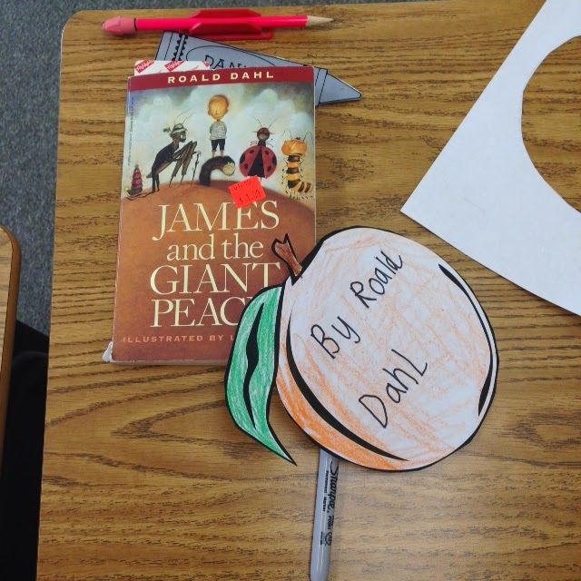 Activities To Supplement James And The Giant Peach By