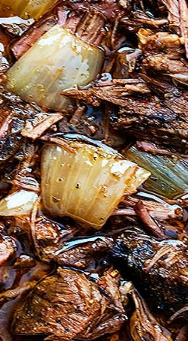 Slow Cooker Barbacoa Beef #beefdishes