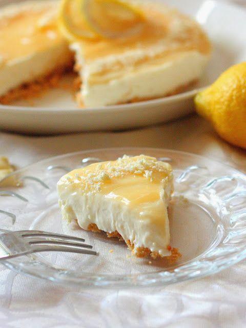 Suklaapossu: Helppo sitruunajuustokakku (ilman liivatetta)