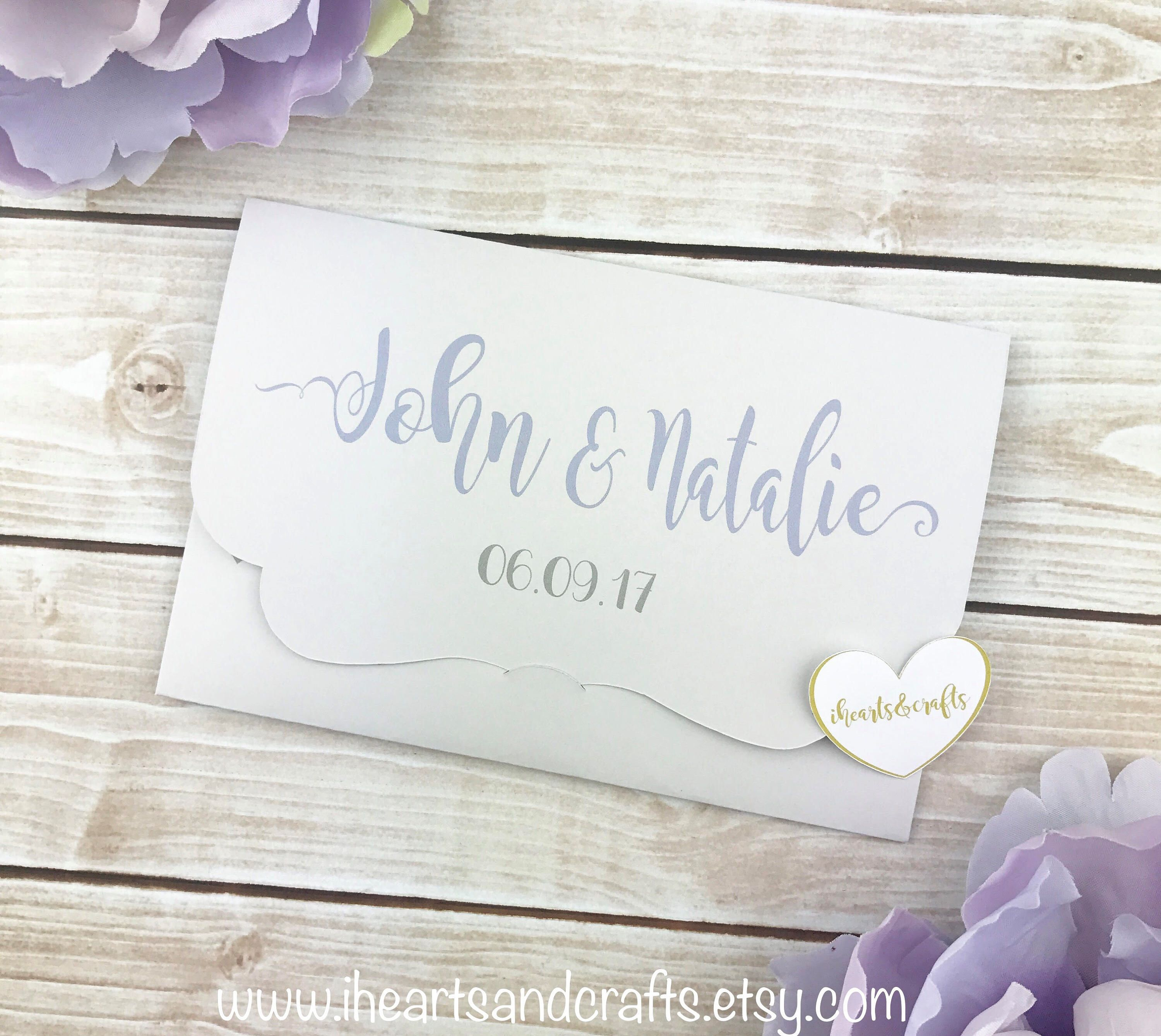 Personalized 4x6 photo booth envelope photo holder party favors ...