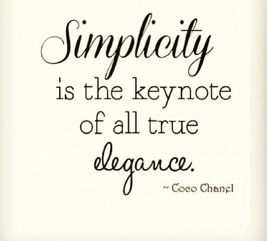 Simplicity is hard to achieve in our networked world. Carve out your own version!