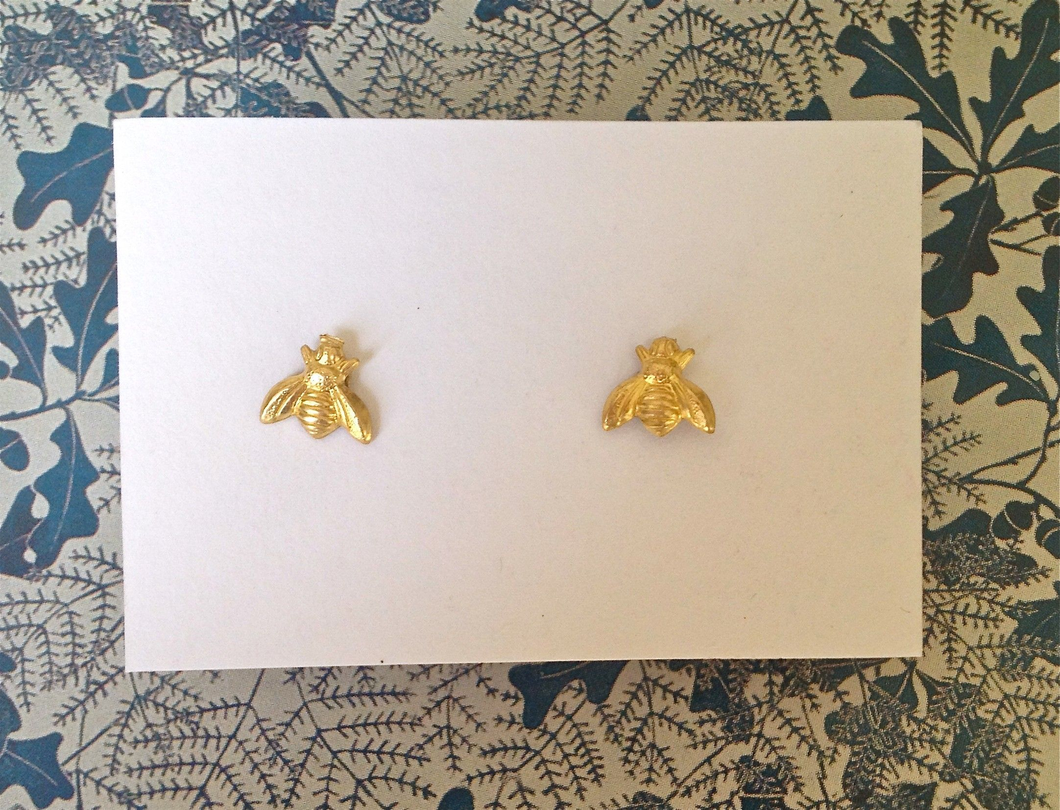 BRIKA.com | Bee Stud Earrings | A Well-Crafted Life