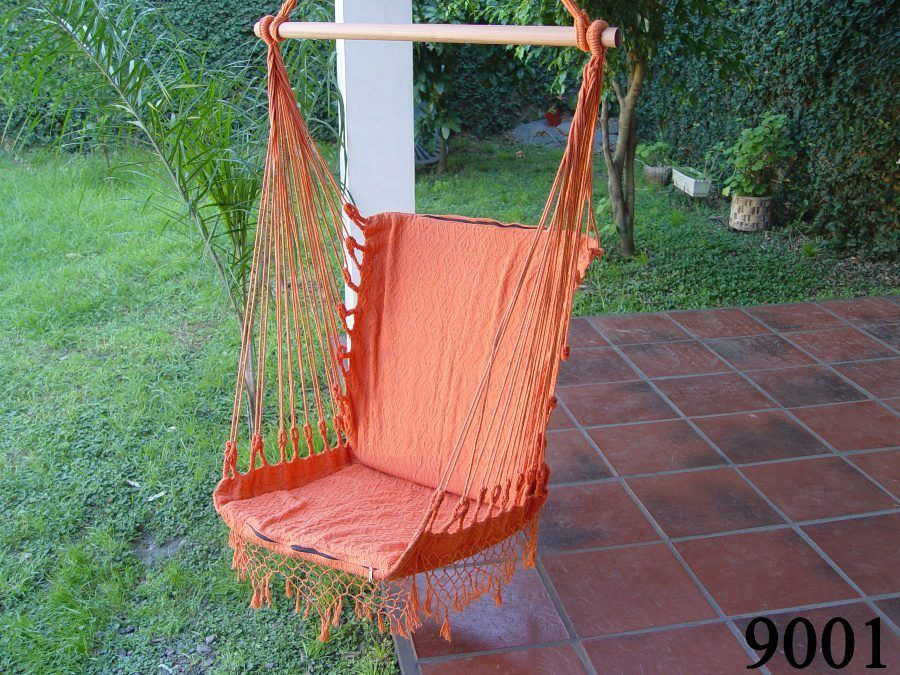 Hamaca paraguaya tipo silla cosas pa la choza for Silla hamaca colgante