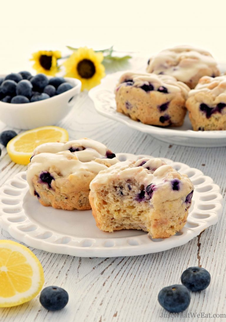 Superfood Energy Muffins - Blueberry Coconut - My Whole