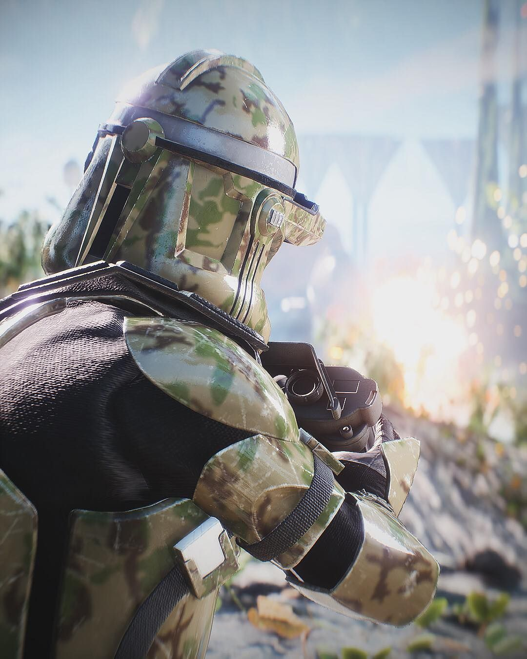 Image may contain outdoor Star wars battlefront, Star