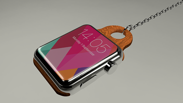 Retro chain turns normal Apple Watch into a vintage pocket