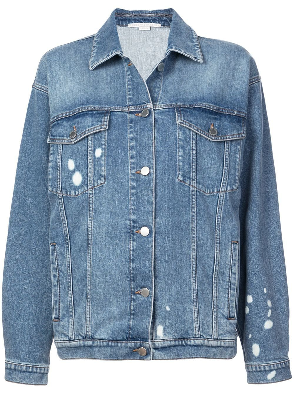 9cec1bc13c Stella McCartney painted denim jacket - Blue in 2019 | Products ...