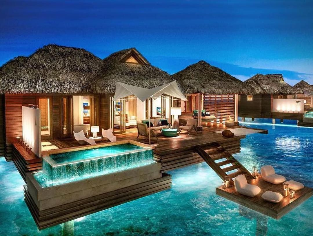 Stunning over water villa at the Sandals Royal Caribbean Resort in Montego  Bay Jamaica Life is