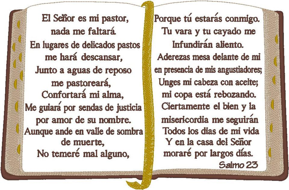 Psalm 23 Spanish Google Search Psalms Psalm 23 Bible Images