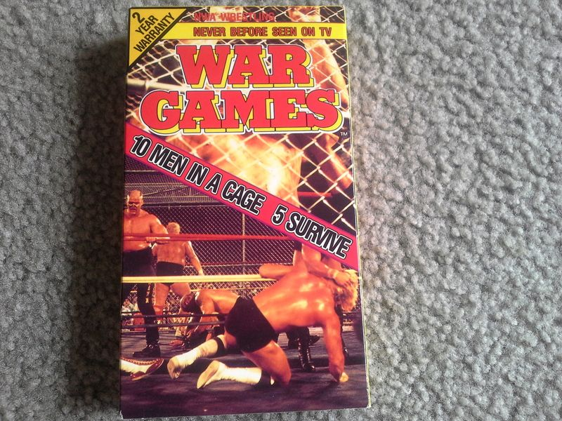 NWA wrestling war games Nwa wrestling, Wwe events, Wrestling