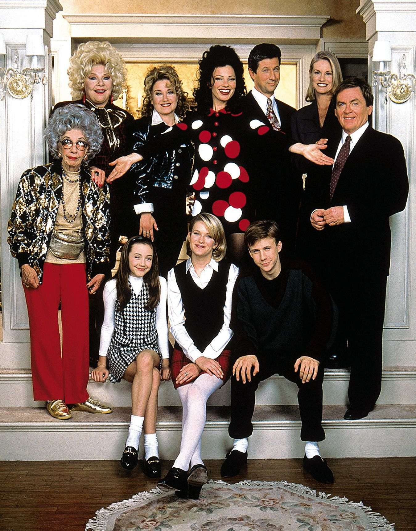 The Nanny Cast Kindermadchen Alte Serien Tv Serien