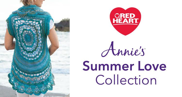 Be inspired with a collection of gorgeous new patterns from Annie's Publishing — the Summer Love Collection. These knit and crochet ...