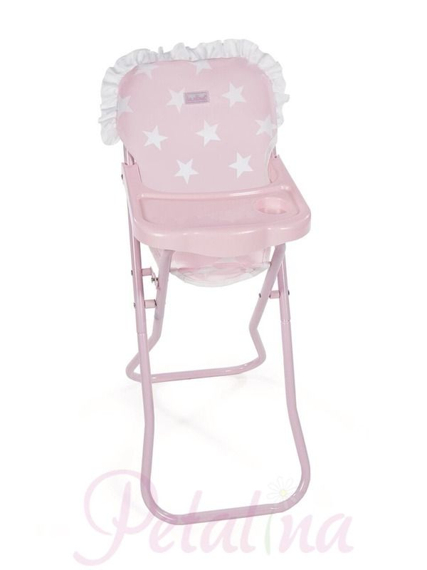 La Nina Carlota Baby Doll High Chair Petalina Doll High Chair Baby Doll Accessories Baby Dolls