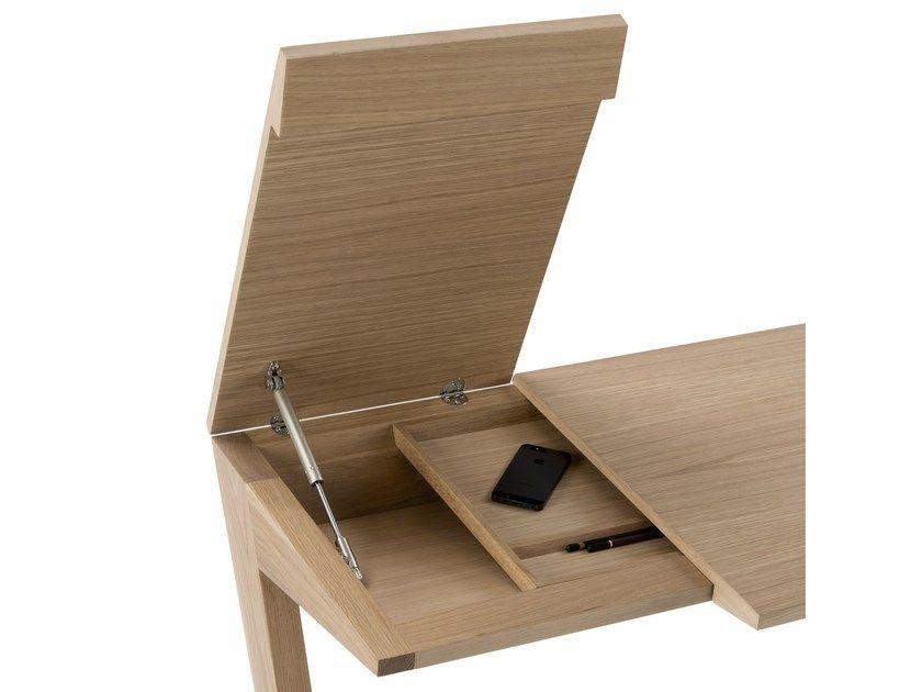 Bureau en bois massif beco by kendo mobiliario home pinterest