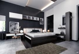 Bedroom Designs: White Black Brown Modern Bedroom Furniture, Bedroom Wall  Colour With Brown Furniture, Blue White Girls Bedroom Ideas,