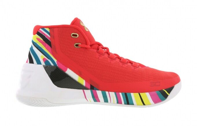 Under Armour Curry 3 Chinese New Year Curry Basketball Shoes Sneakers Air Jordans