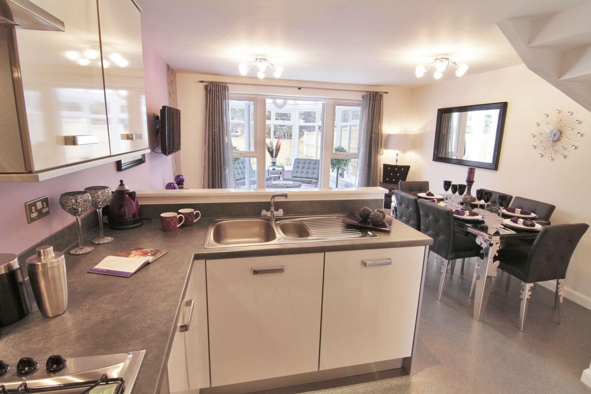 أفضل تصميم لمطبخ صغير مفتوح على الصالة Kitchen Dining Kitchen Home Decor