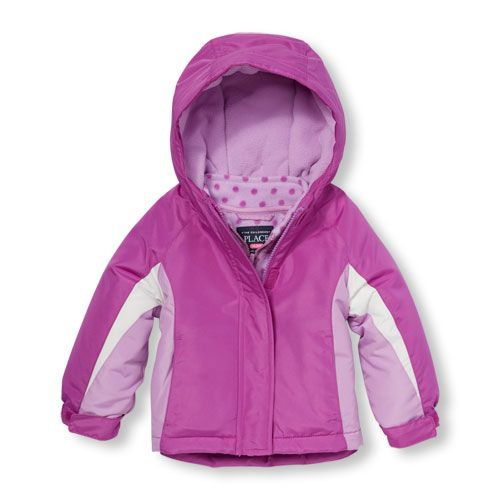 dff36b6a2 s Toddler Long Sleeve Colorblock Hooded 3-In-1 Jacket - Purple - The ...