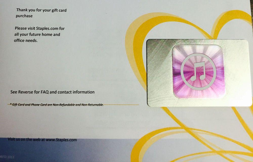 APPLE $50 US iTUNES GIFT CARD CERTIFICATE VOUCHER NEW #1