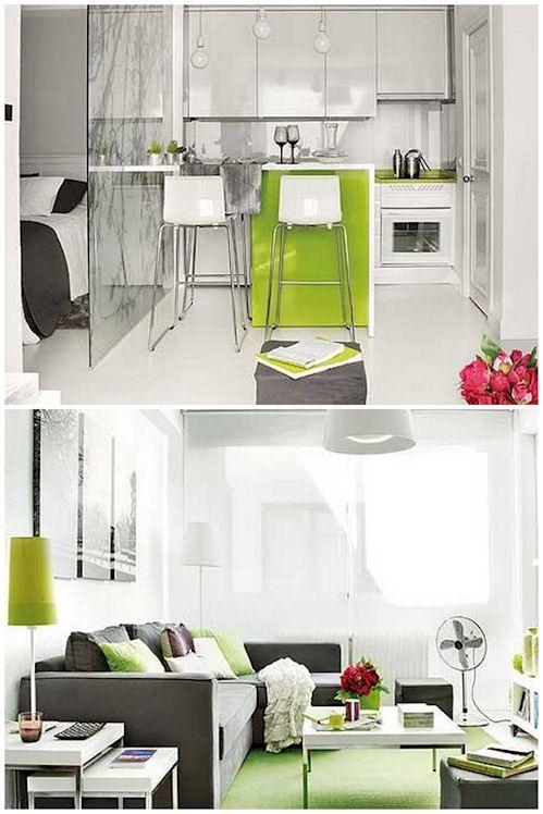 Dise o en espacios reducidos hogar decoracion de for Cortinas departamentos pequenos