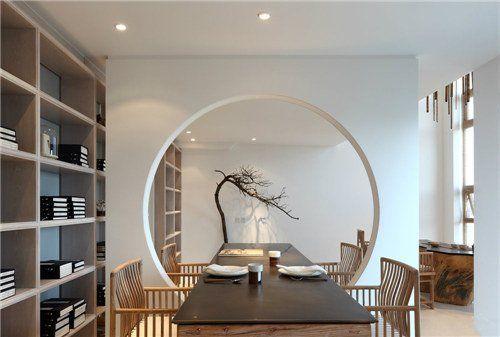 Wintergarten Ideen, Raumteiler, Umbau, Architektur, Regal, Wohnzimmer,  Moderne Chinesische Innen, Modern Asiatisch, Innenfenster