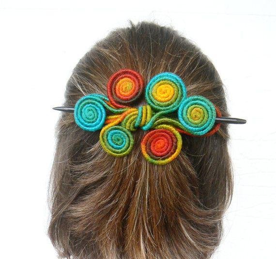 Slide Hair Barrette Curly Hair Fascinator Long Thick Hair Etsy Fascinator Hairstyles Hair Barrettes Geometric Hair Clip