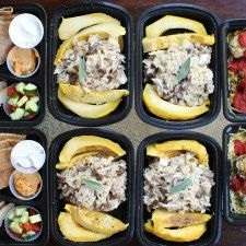 Happy meal prep Monday! Now that I've finally recovered from the flu I picked up in Tokyo (or somewhere along the way to/from), I'm ready to eat (healthy or otherwise) and hit the gym! Here's my meal plan for this week: Day 1: Breakfast:Peanut Butter Banana Protein Pancakes Lunch: Turkey patty, sweet potato, broccoli medley...Read More »