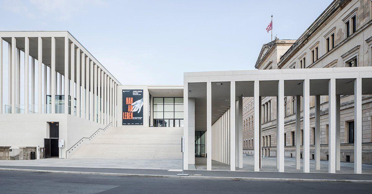 Architecture Architectureinberlin Davidchipperfieldarchitects Jung Ls 990 Switch Lights Up Berlin S James Simon Galerie By David ในป 2020