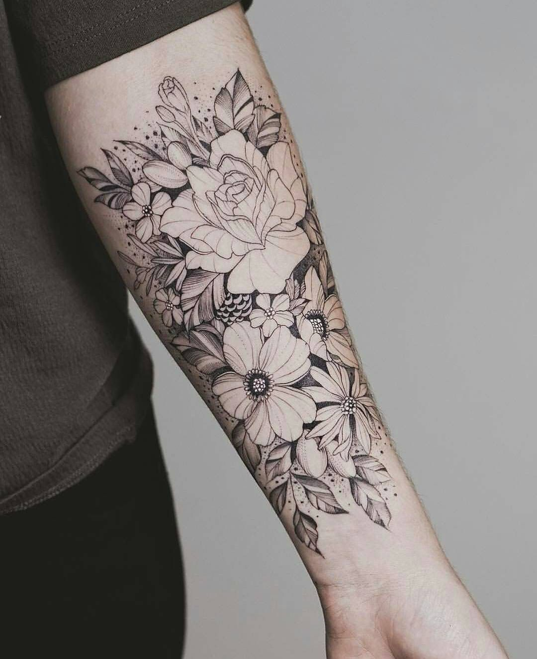 Pin By Nick On Tattoos Tatouage Tatouage Fleur Tatouage Avant Bras