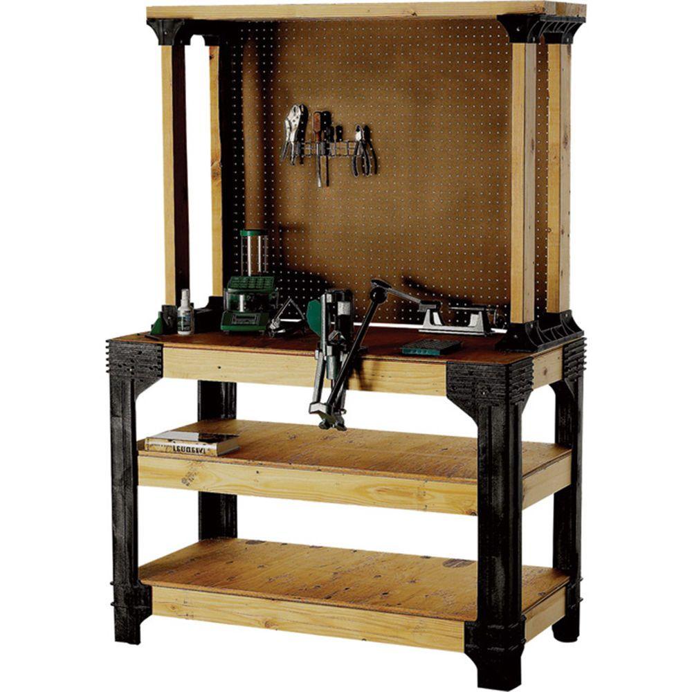 Details about Workbench Kit Garage Work Bench Heavy Gauge