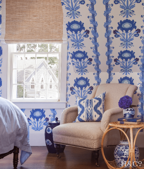 Whimsical Blue And White New England Rooms From Harding