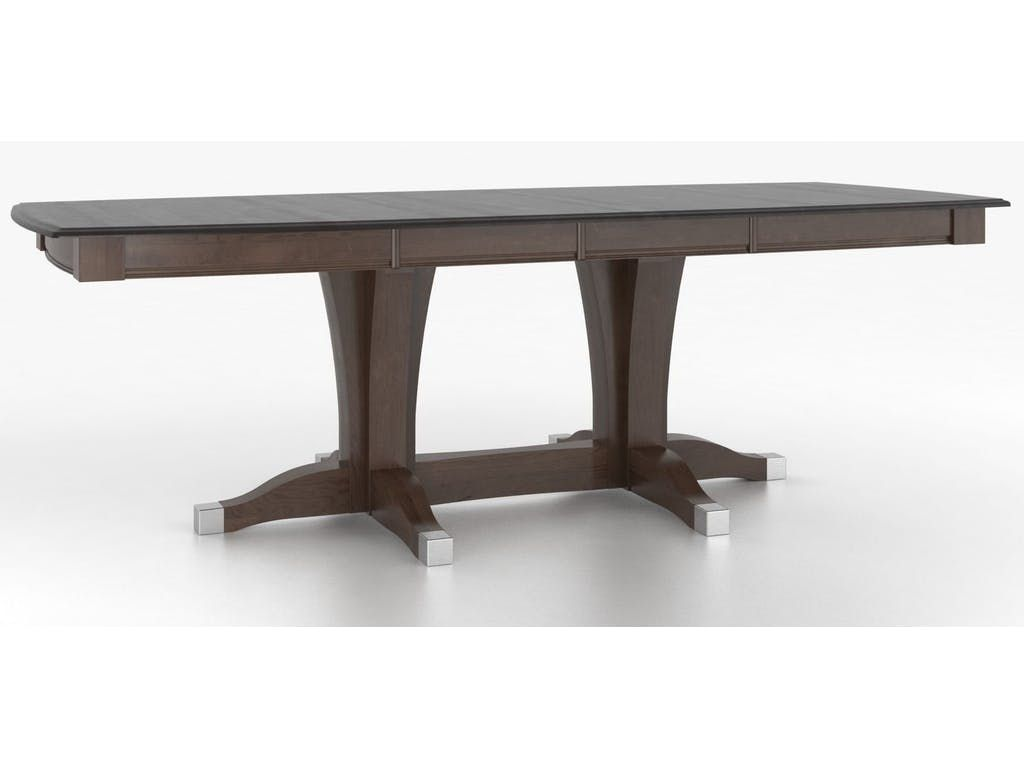 Canadel Dining Room Boat Shape Table With Pedestal TBS3868XA 2 At Ennis  Fine Furniture At Ennis Fine Furniture In Boise, ID, Reno, NV, Spokane, WA,  ...