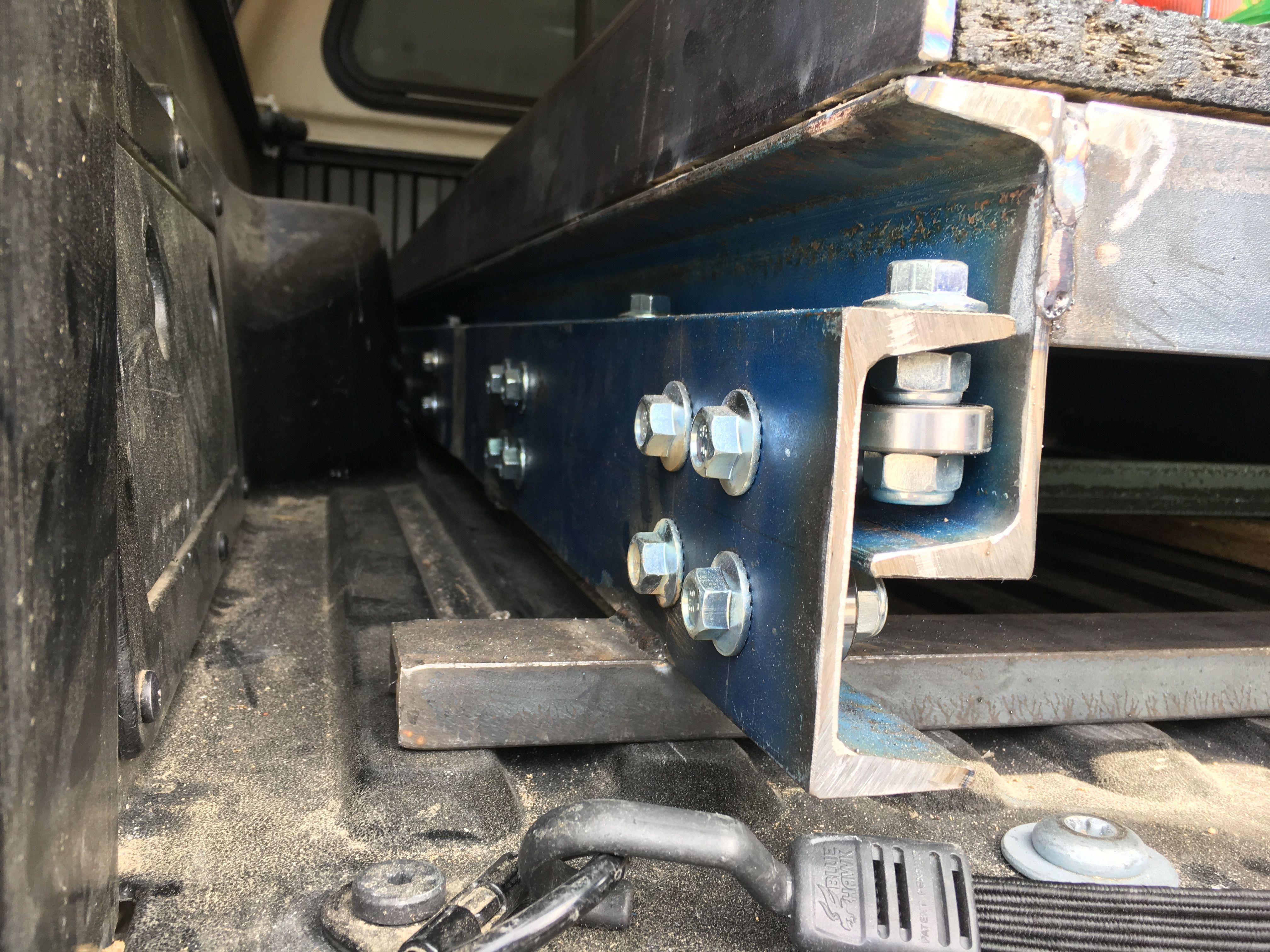 Pin by Dan Kellogg on DIY Sliding Truck Bed Welding
