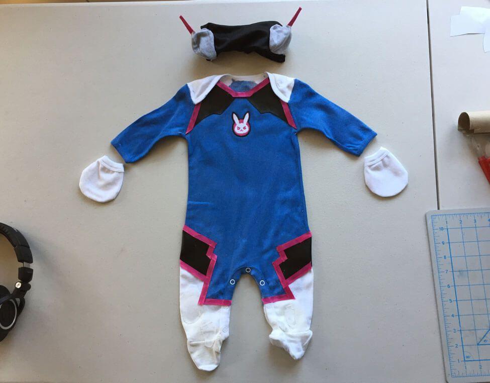 Make Your Own: Baby D Va Costume   Halloween Costumes   Baby