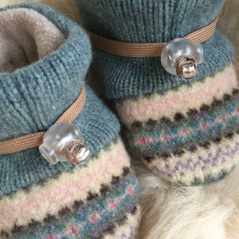 Wool baby slipper non slip soft sole shoe baby girl in Toddler