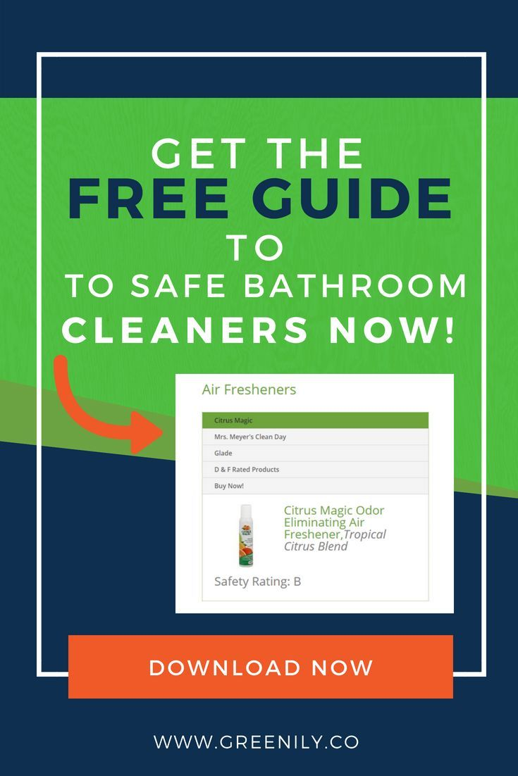 Make the switch to safer cleaning products for your ...
