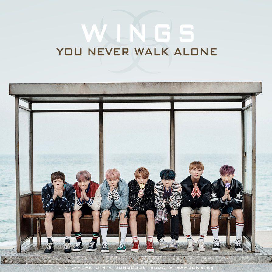 Bts You Never Walk Alone By Tsukinofleur Bts You Never Walk Alone Walking Alone Album Covers Bts wallpaper hd you never walk alone