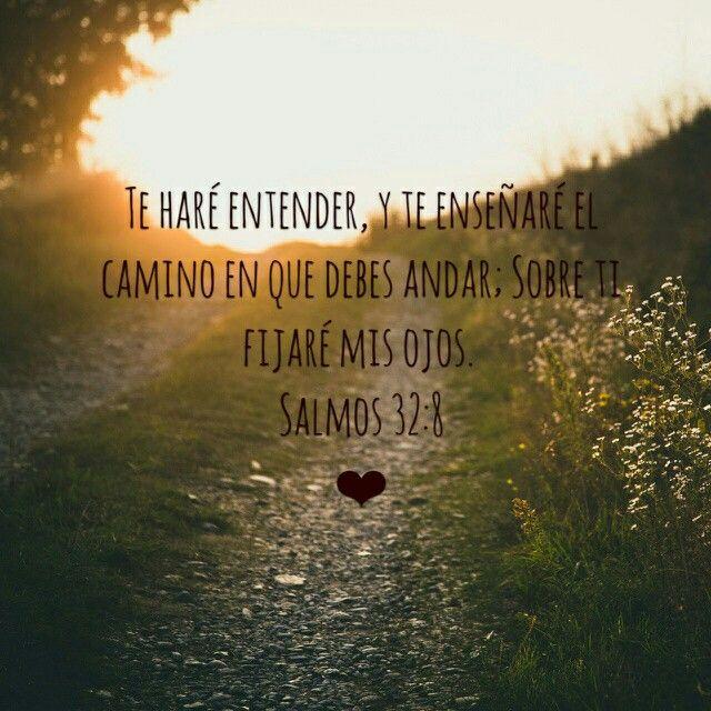 Salmos 32:8 ❤