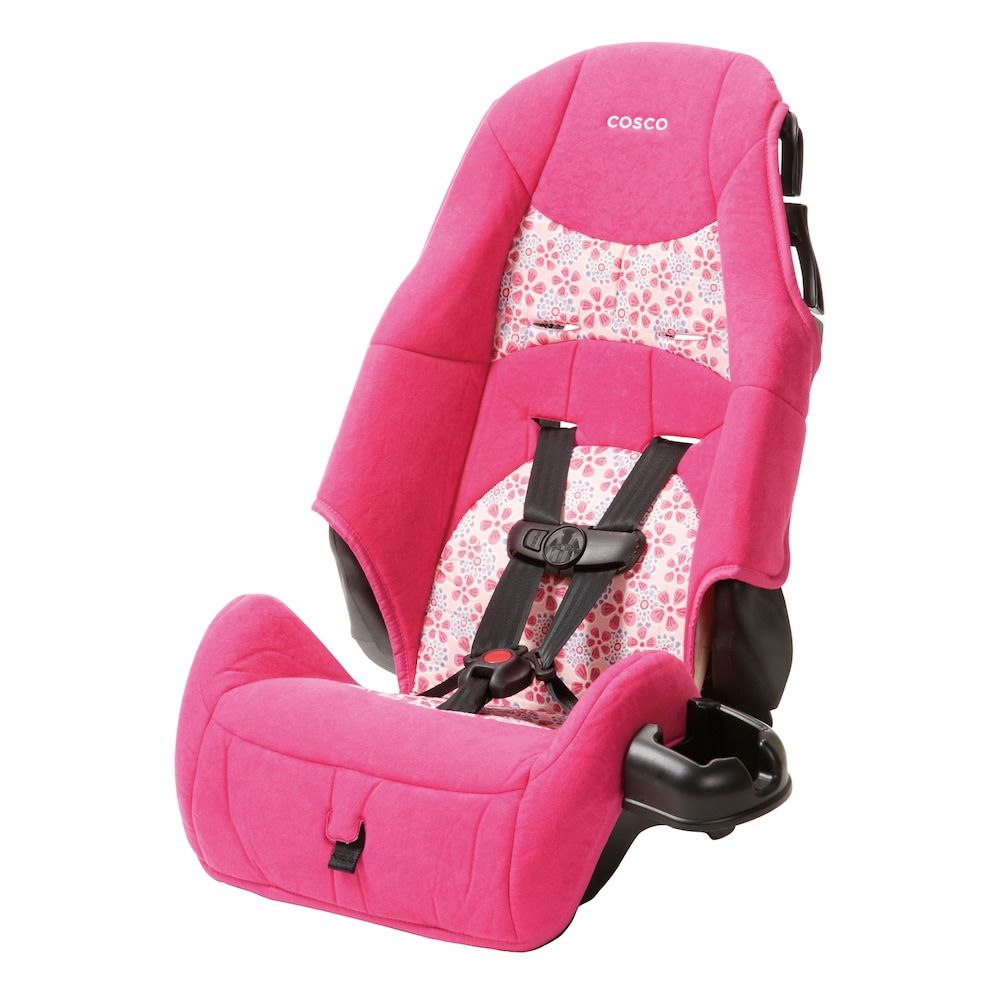 Cosco Ava Highback Booster Car Seat Pink