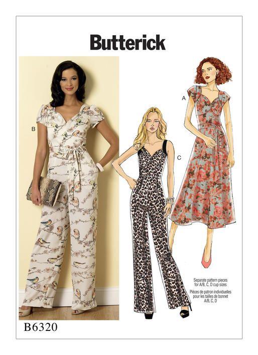 B6320 | Butterick Patterns | 2016 BMV pattern wishlist | Pinterest ...