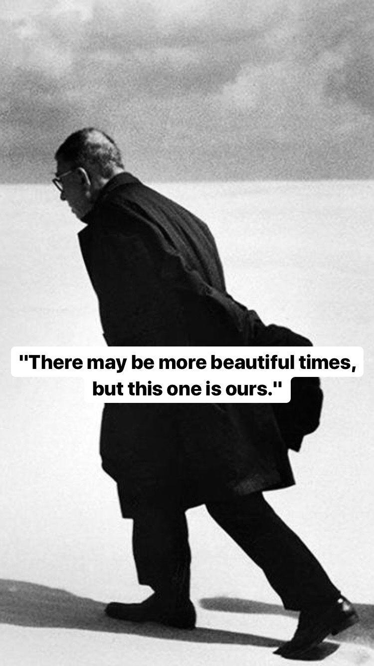 Jean-Paul Sartre #jeanpaulsartre Jean-Paul Sartre #jeanpaulsartre