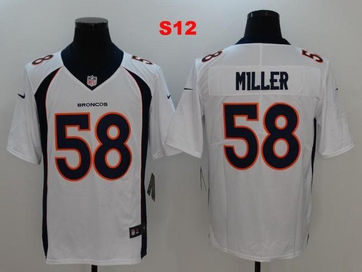 435a01338 Men 58 Von Miller Jersey Football Denver Broncos Jersey
