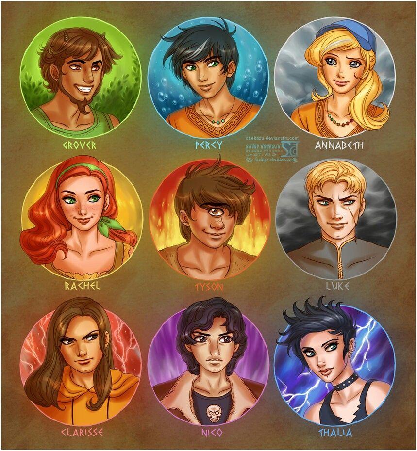 Percy Jackson Characters | Books (Percy Jackson) | Pinterest