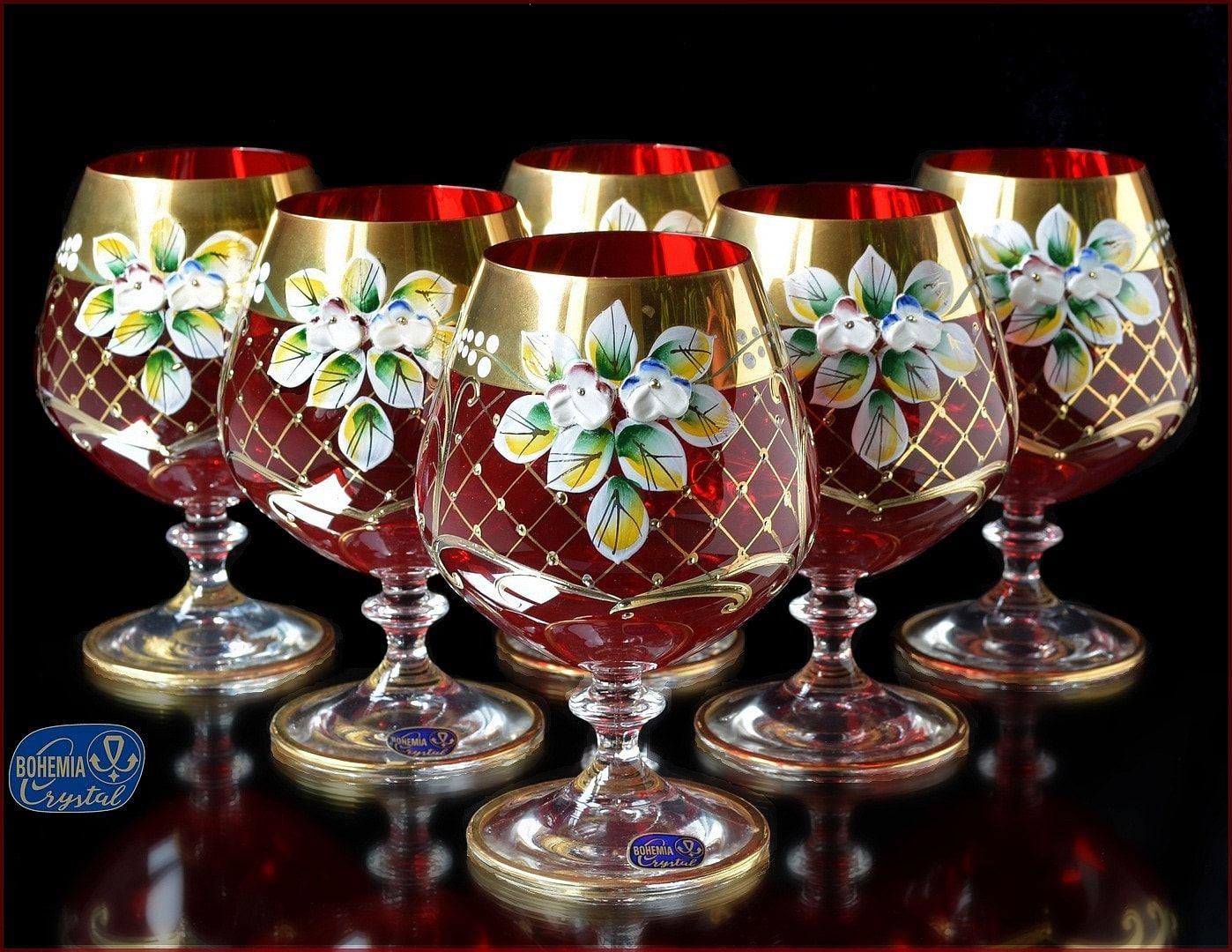 Bohemian Crystal And Czech Glass Bohemia Crystal Bohemian Glass Crystal Glassware