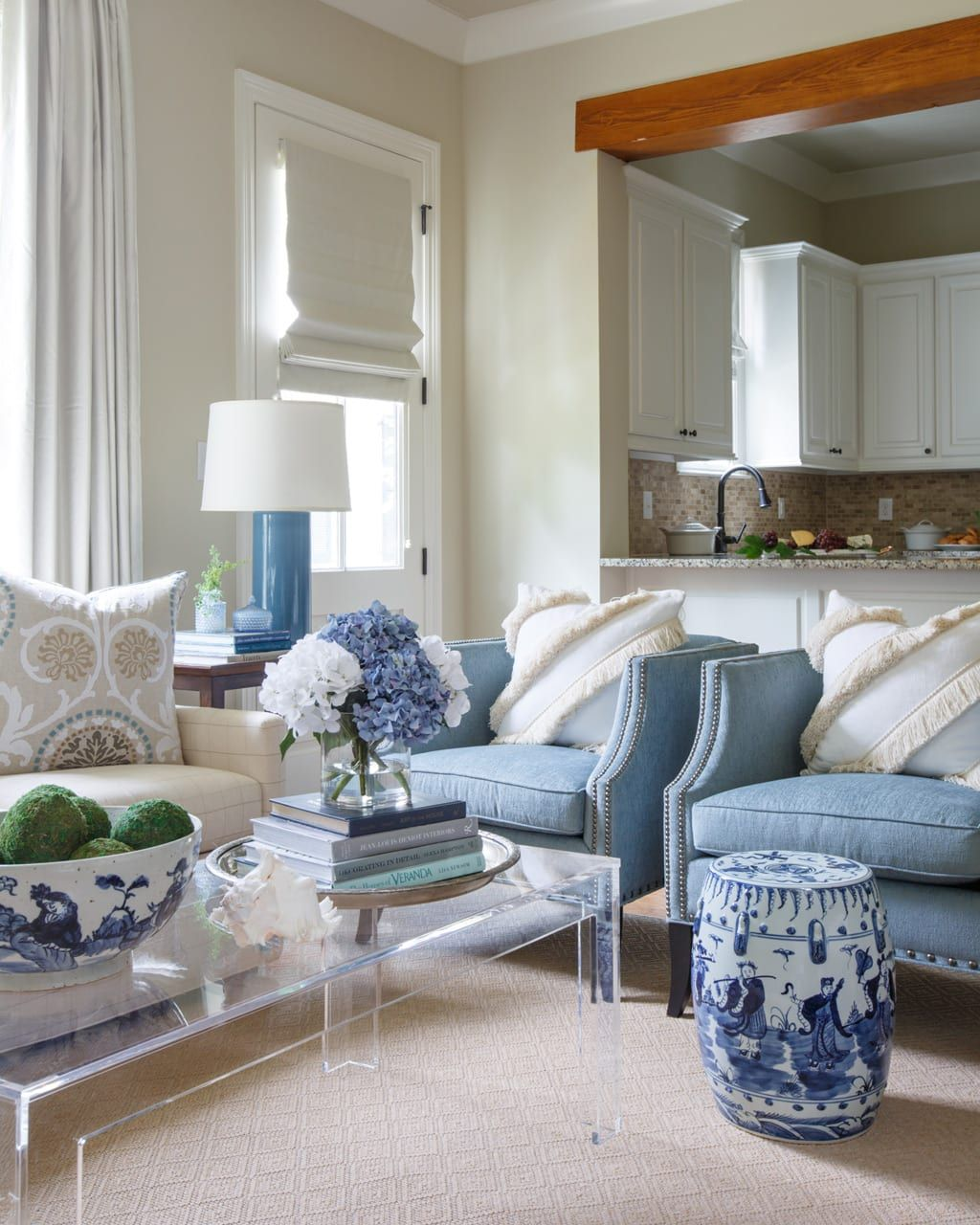 House Tour Cape Cod Inspired Home By Rachel Cannon Living Room
