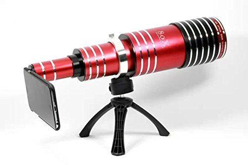 Goliton handy teleskop objektiv mit stativ und schutzh ¹lle f
