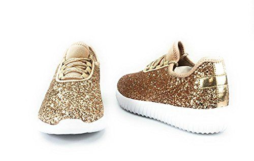 60eee732ae84 Forever Link Women s Remy-18 Glitter Sneakers