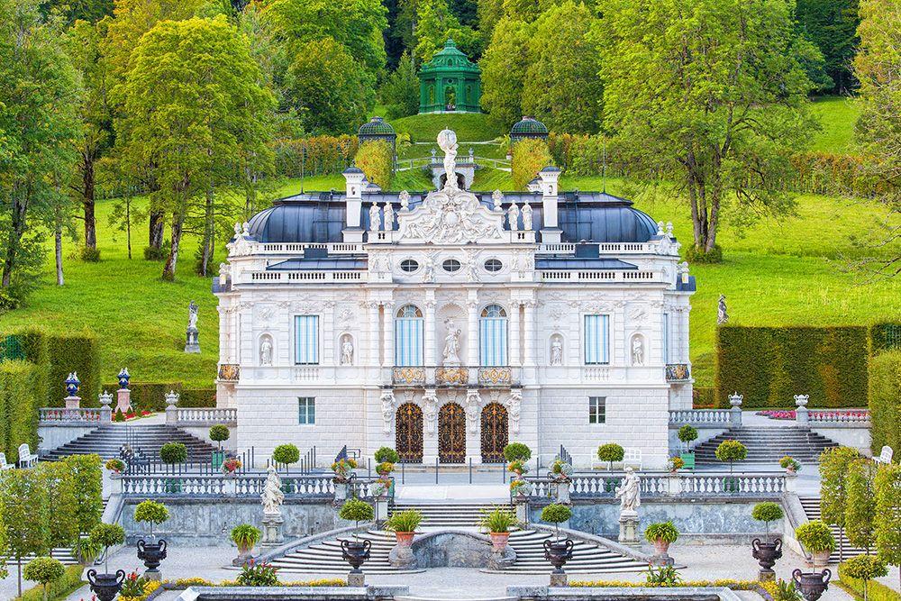 Liebesdeutschland Schloss Linderhof Deutschland Linderhof