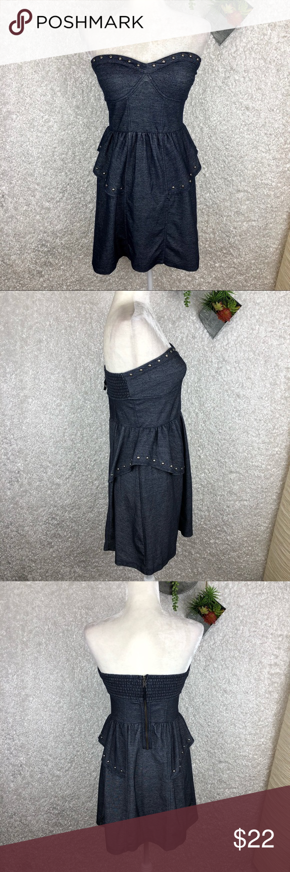 5f1459468a3 AEO Strapless Dress