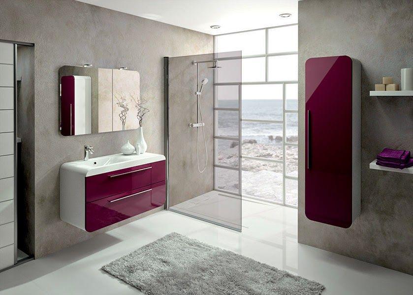 meubles de salle de bains igloss de aquarine couleur
